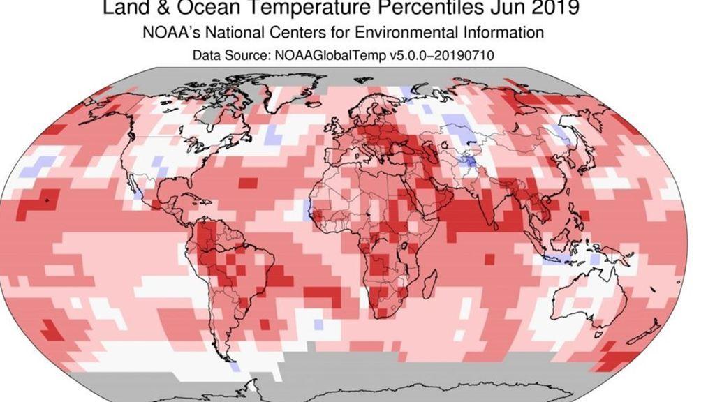 Sí, hace más calor: Junio fue el más caluroso en el mundo en los 140 años en los que hay registros