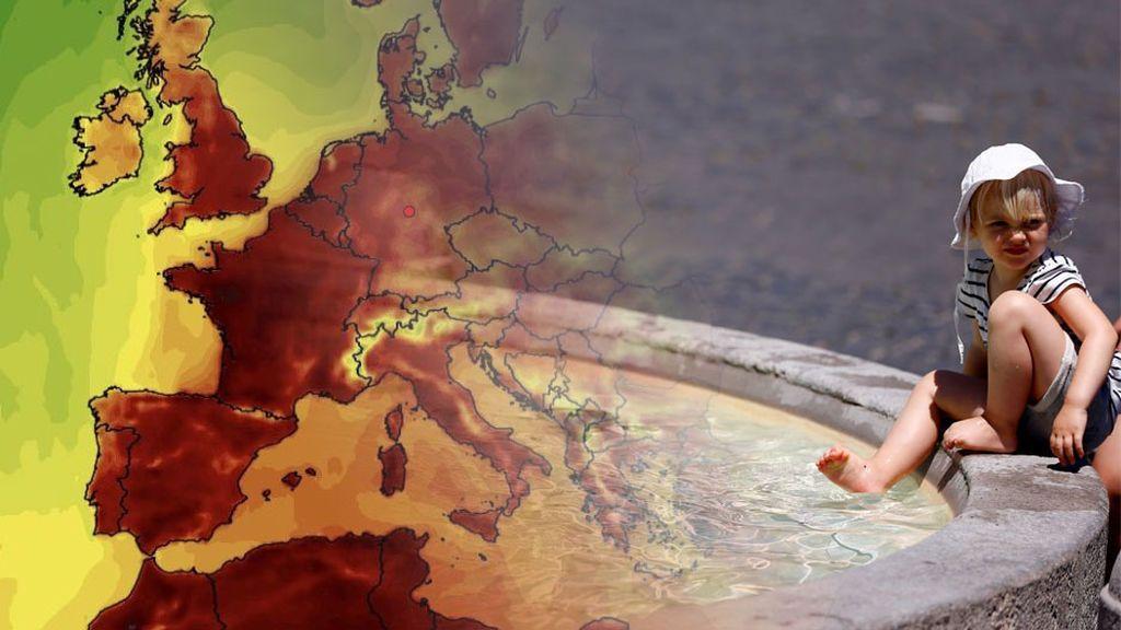 Ola de calor en Europa: una masa de aire africano traerá un nuevo episodio de temperaturas extremas