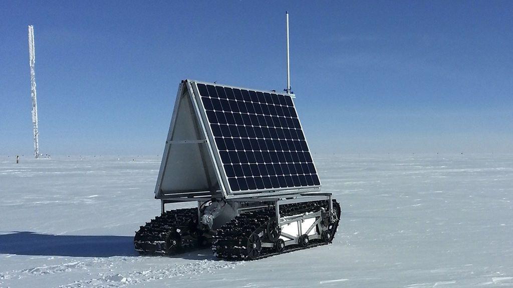 Placa solar de la NASA