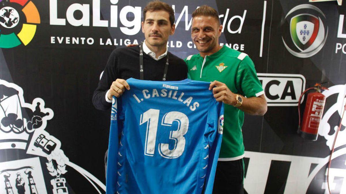 """El detalle de Joaquín con Casillas que tanto ha gustado al portero: """"A la altura de un club inmenso"""""""