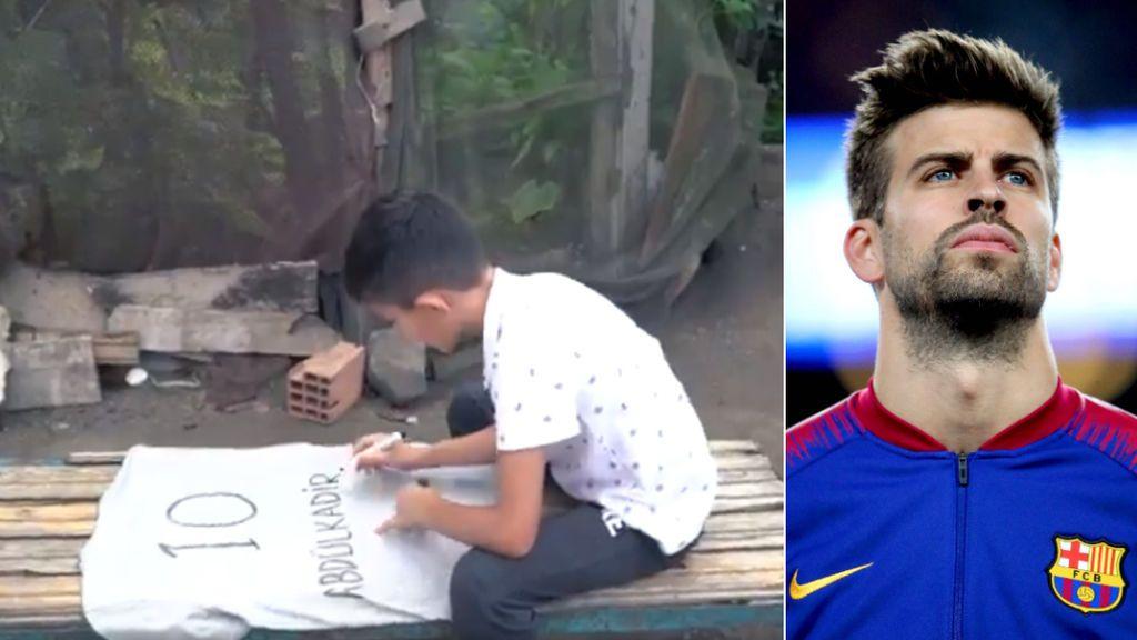 """La presentación de la camiseta de un equipo turco que ha emocionado a Piqué: """"Enviaremos una camiseta a tu familia"""""""