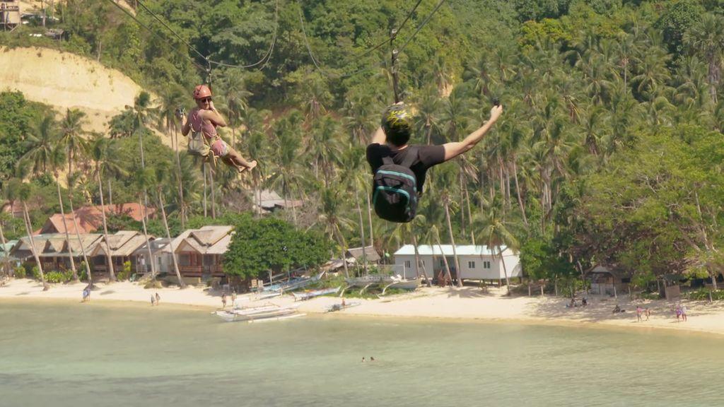 Solo apto para valientes: en Filipinas puedes volar de una isla a otra gracias a esta impresionante tirolina