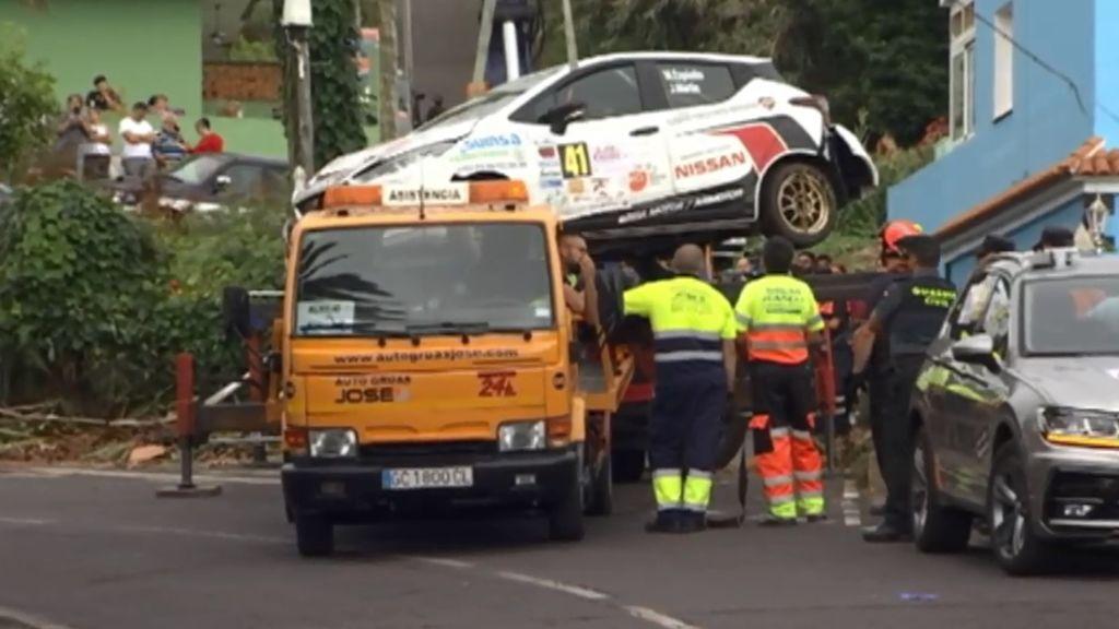 Un espectador fallece en el Rally Ciudad de La Laguna