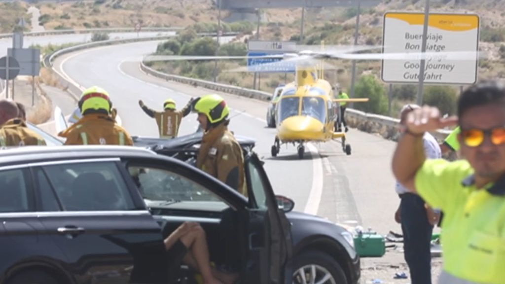Nueva tragedia en las carreteras: tres muertos, entre ellos un bebé, en un accidente en El Campello, Alicante