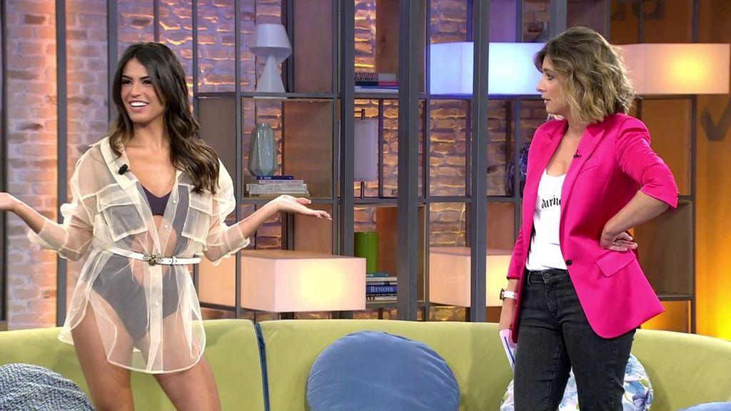Sofía Suescun sorprende con su look en 'Viva la vida'