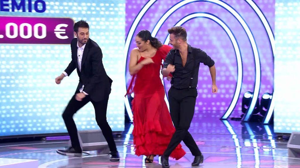 Dani Martínez se viene arriba bailando por Sonia y Selena