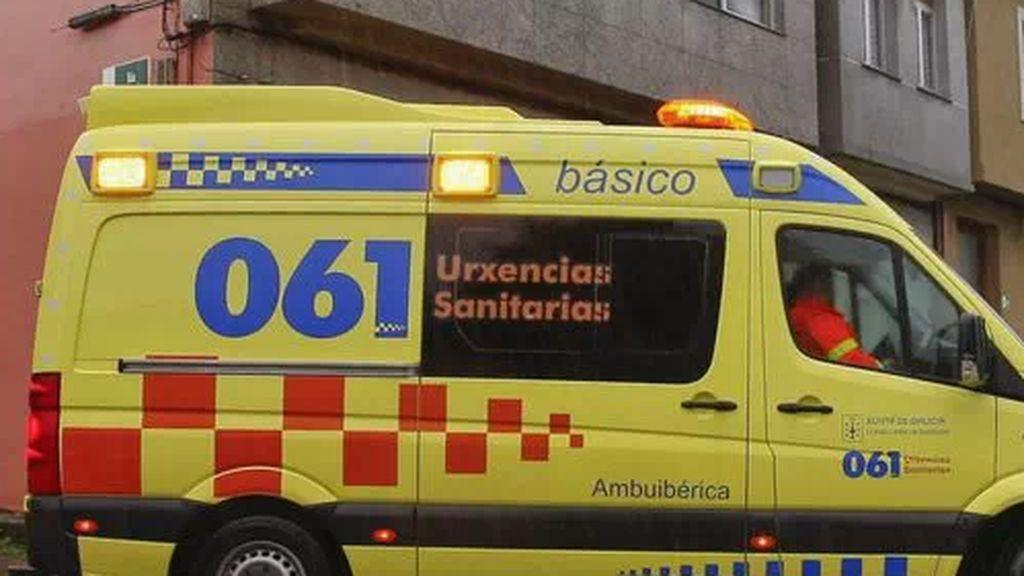 Muere una mujer de 70 años en Nelle (A Coruña) arrollada por un tráiler delante de su hijo