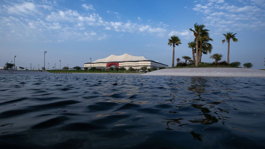 Uno de los estadios del Mundial de Catar tendrá un parking para 'taxis acuáticos'