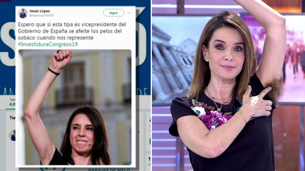 Chaparro defiende a Irene Montero