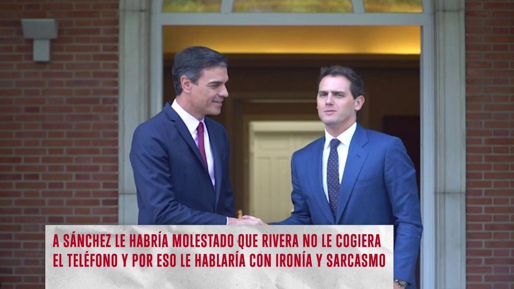 La relación entre Sánchez y Rivera
