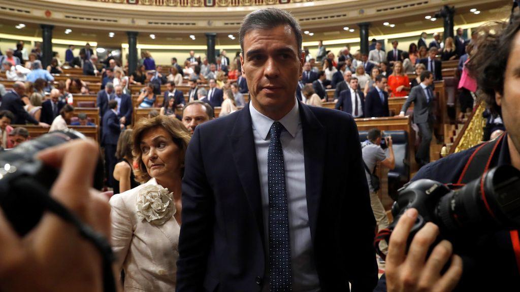 el debate de investidura de Sanchez bilaketarekin bat datozen irudiak
