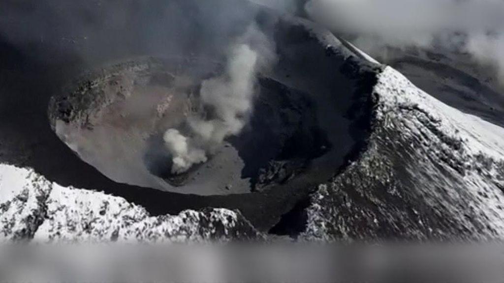 Detectan un nuevo cráter interno en el volcán Popocatépetl