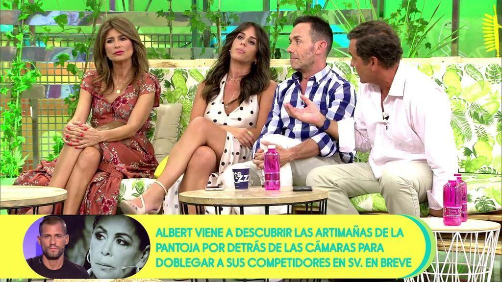 """Las insinuaciones de Antonio Montero sacan de quicio a Anabel Pantoja: """"No sé lo que estás insinuando pero ten cuidadito porque a lo mejor se puede malinterpretar"""""""
