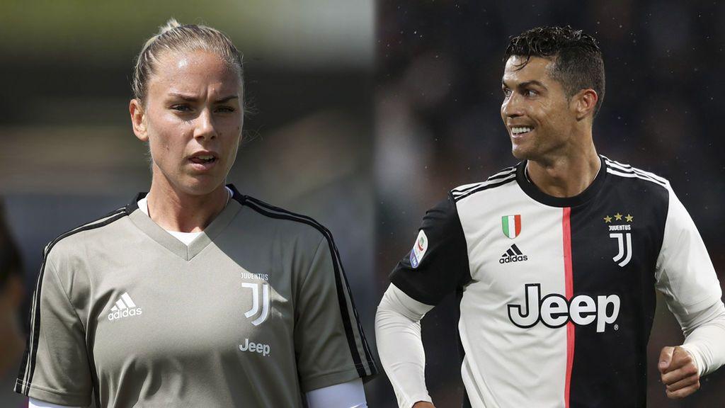 Una jugadora de la Juve femenina revela las presiones para no hablar de la presunta violación de Cristiano en Las Vegas