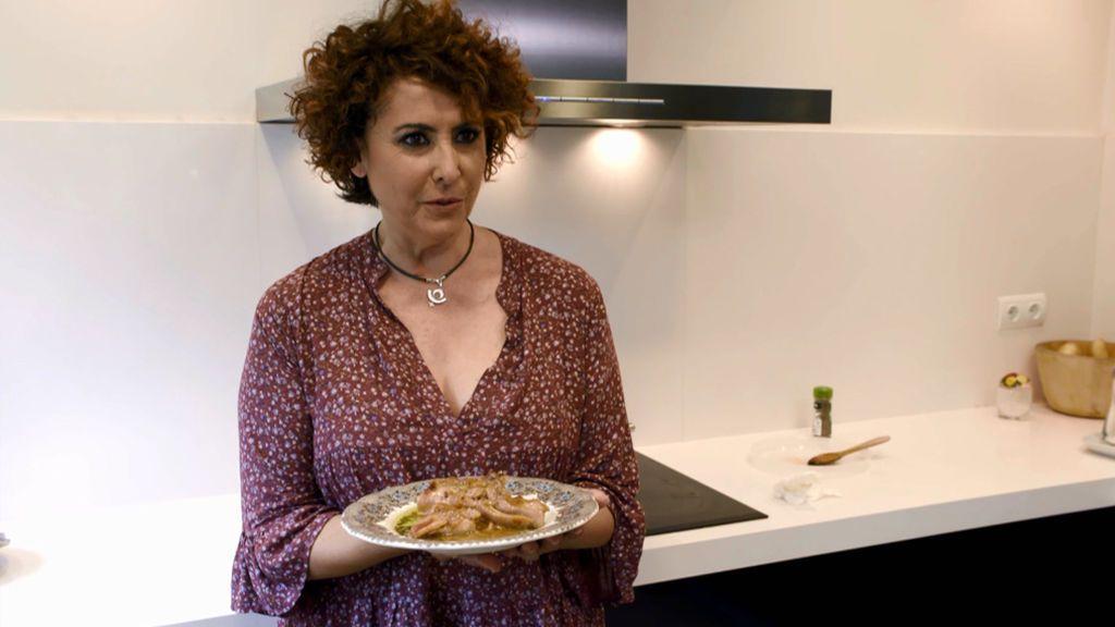 Juega con estos puzzles a emplatar el menú de Irma Soriano en 'Ven a cenar conmigo: Gourmet Edition'