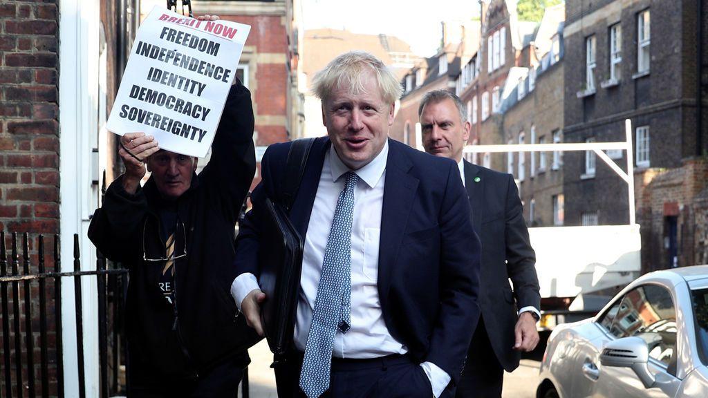 Boris Johnson, elegido primer ministro de Reino Unido