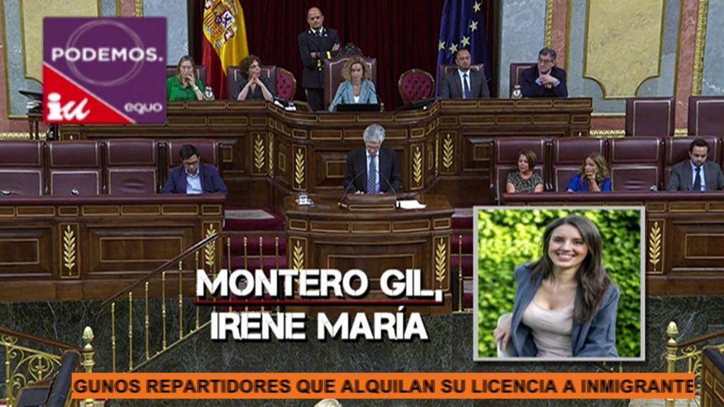 Irene Montero y su negativa