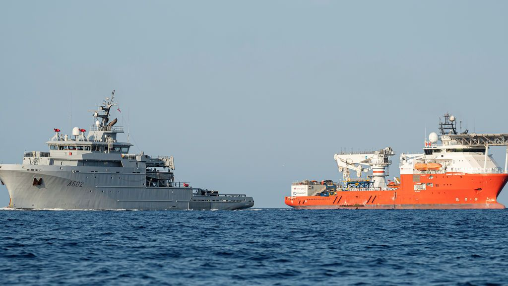 Localizan el 'Minerve', un submarino francés, hundido en 1968 , en la costa mediterránea