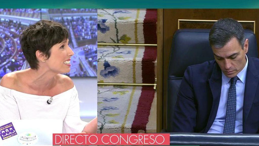 """Marta Nebot: """"Sánchez no quiere la coalición con Unidas Podemos y se ha inventado todo para evitarlo"""""""
