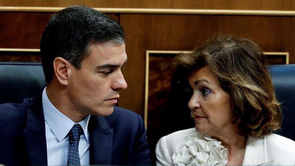 PSOE tensa el posible acuerdo con Podemos lanzando un ultimátum después de la reunión entre Calvo y Echenique
