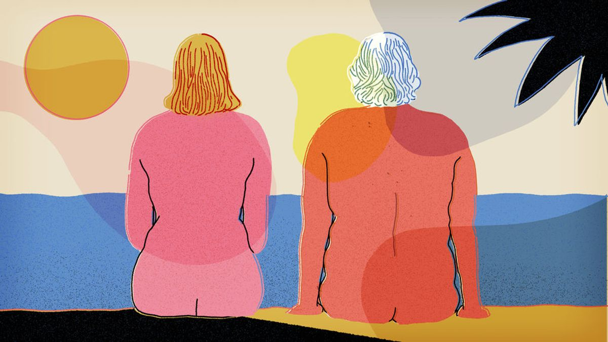 La playa nudista es un placer para el que no hay edad: consejos para tu primer destape veraniego