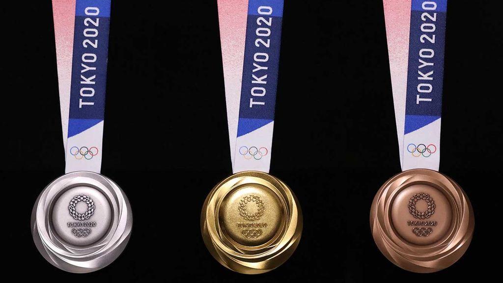 La organización de los Juegos Olímpicos de Tokio muestra el objeto más deseado: el aspecto de las nuevas medallas