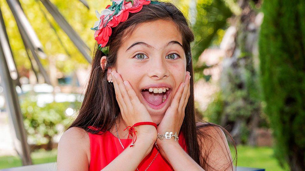 Melani, ganadora de 'La Voz Kids' y  niña prodigio de la ópera, representará a España en Eurovisión Junior