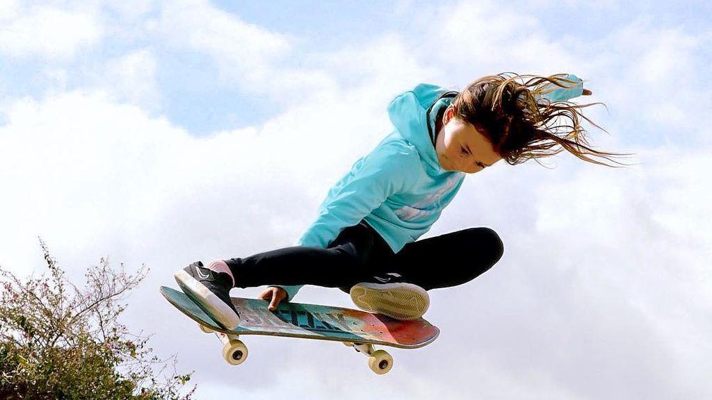 La historia de Sky Brown, la niña que podría ir a los Juegos Olímpicos de Tokio 2020 con solo 12 años