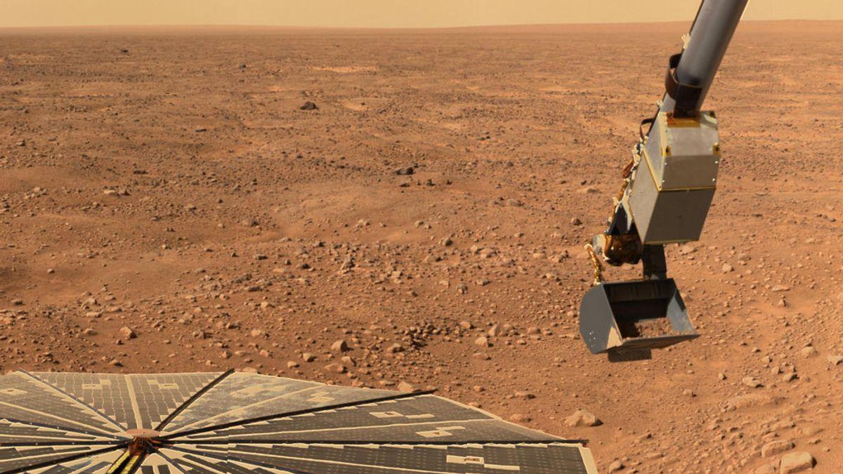 ¿A qué se parece un terremoto en Marte?