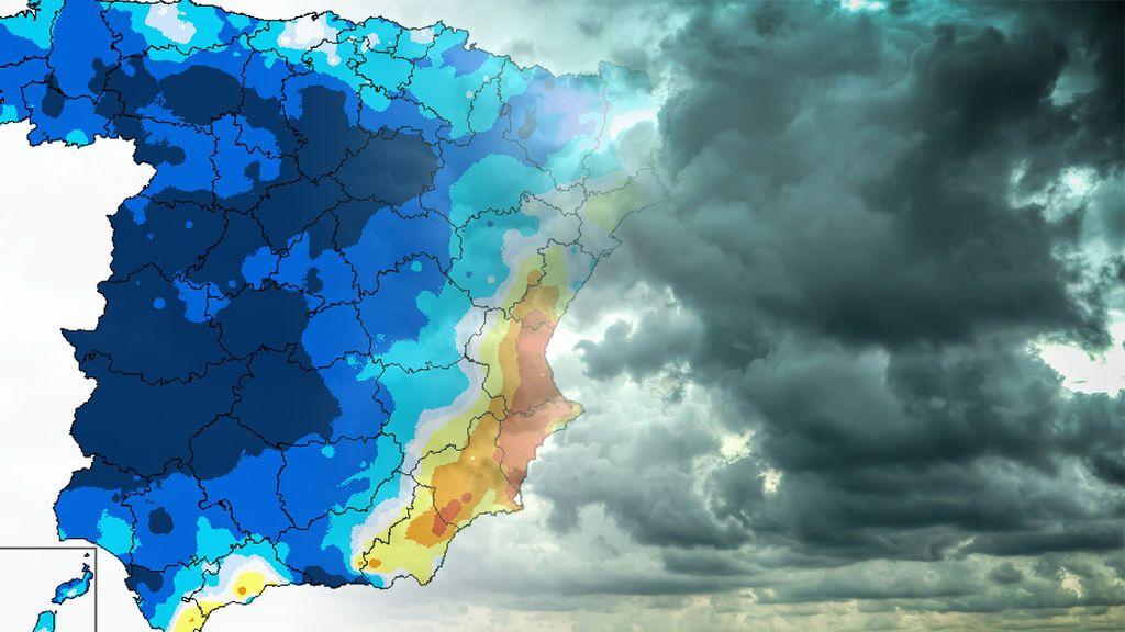 Caídas de hasta 16ºC y mucho viento: todos los detalles del espectacular cambio de tiempo