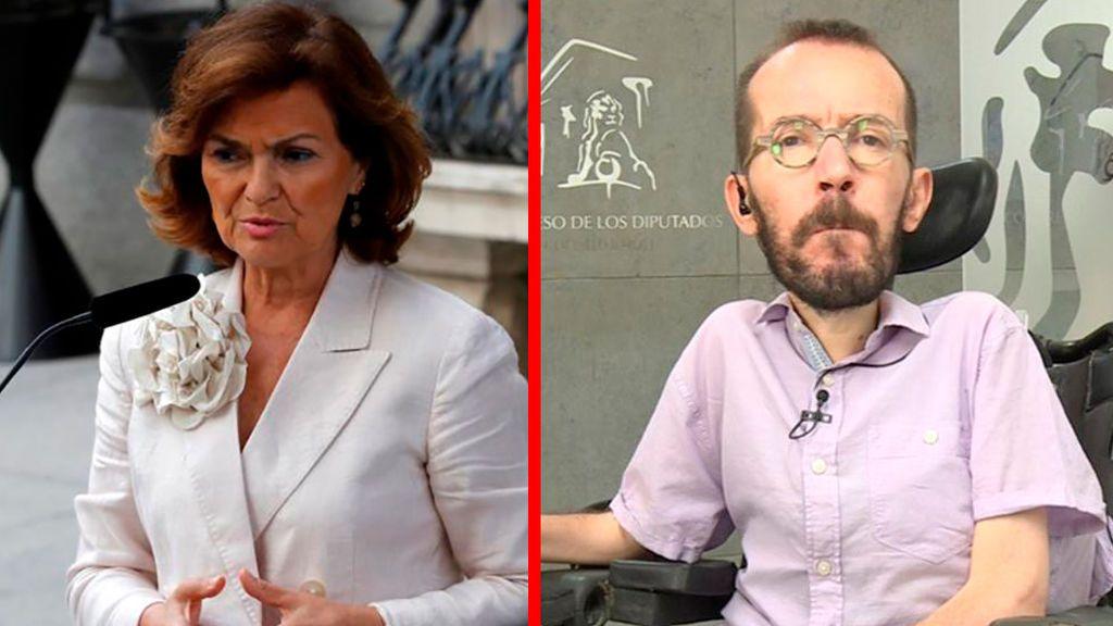 El Gobierno y Podemos evidencian en público su ruptura total a pocas horas de la votación