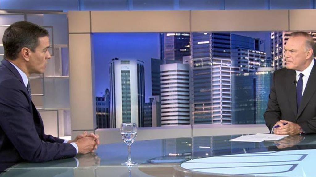 Entrevista íntegra con Pedro Sánchez tras la investidura fallida