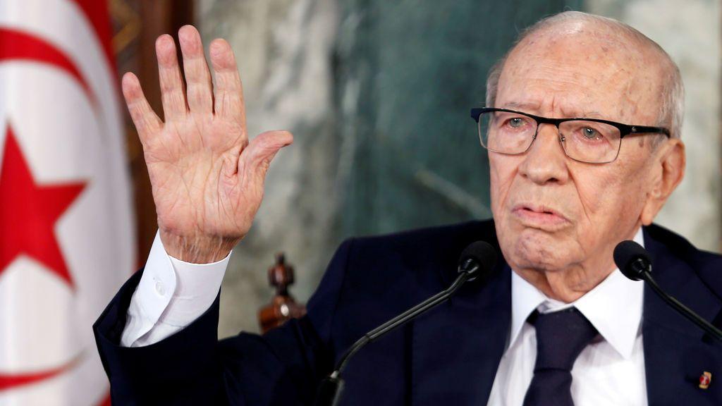 Muere el presidente de Túnez,  Béji Caid Essebsi