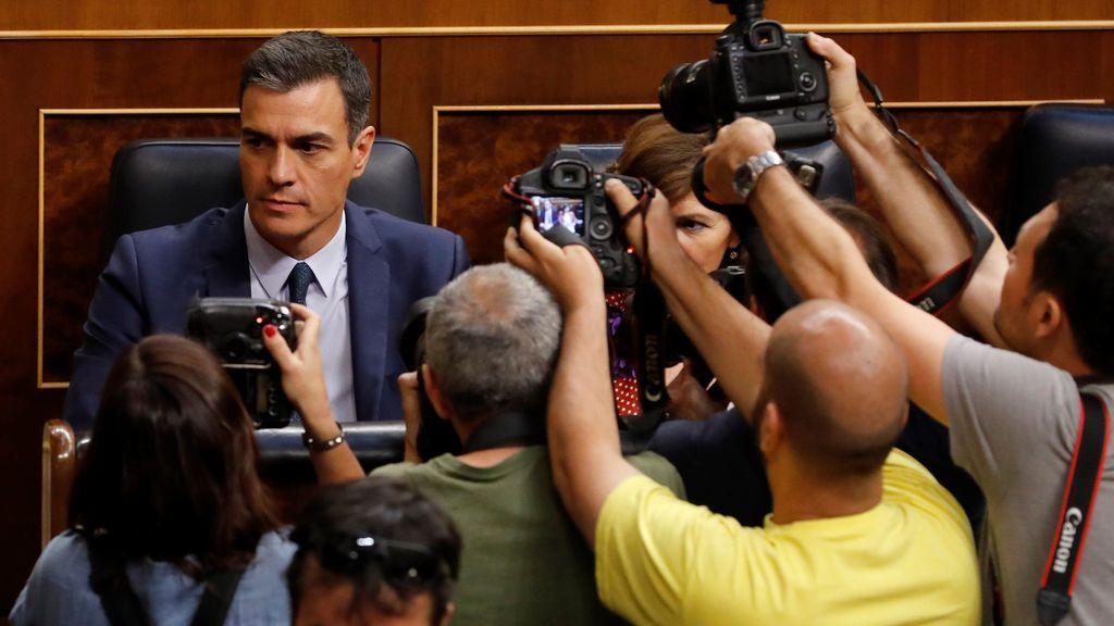 Las frases contra todos de Pedro Sánchez en su segunda investidura fallida