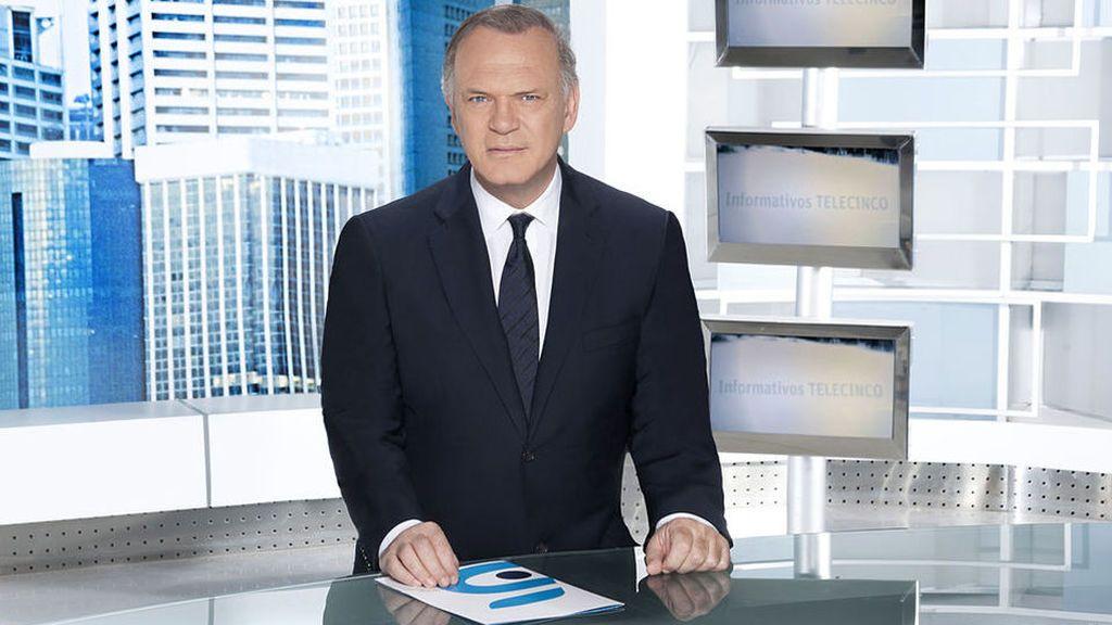 Pedro Sánchez, esta noche en Informativos Telecinco 21:00 horas