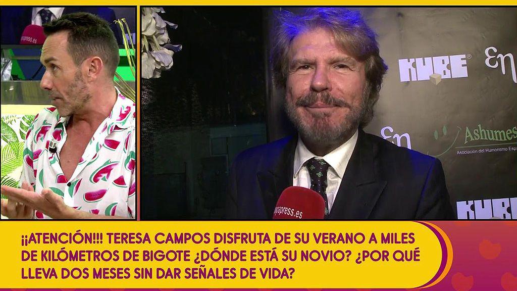 Edmundo Arrocet lleva más de un mes en Chile