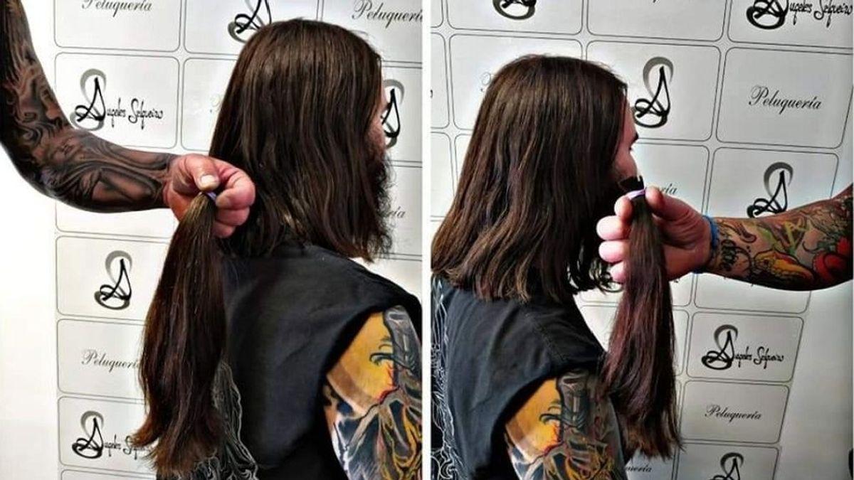 Se desbordan las donaciones de melenas en verano para pelucas para enfermos de cáncer