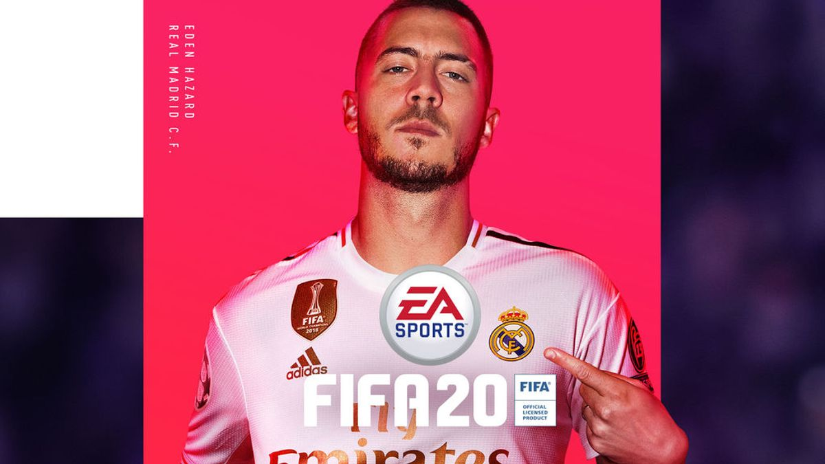Eden Hazard es la estrella de la portada de FIFA 20