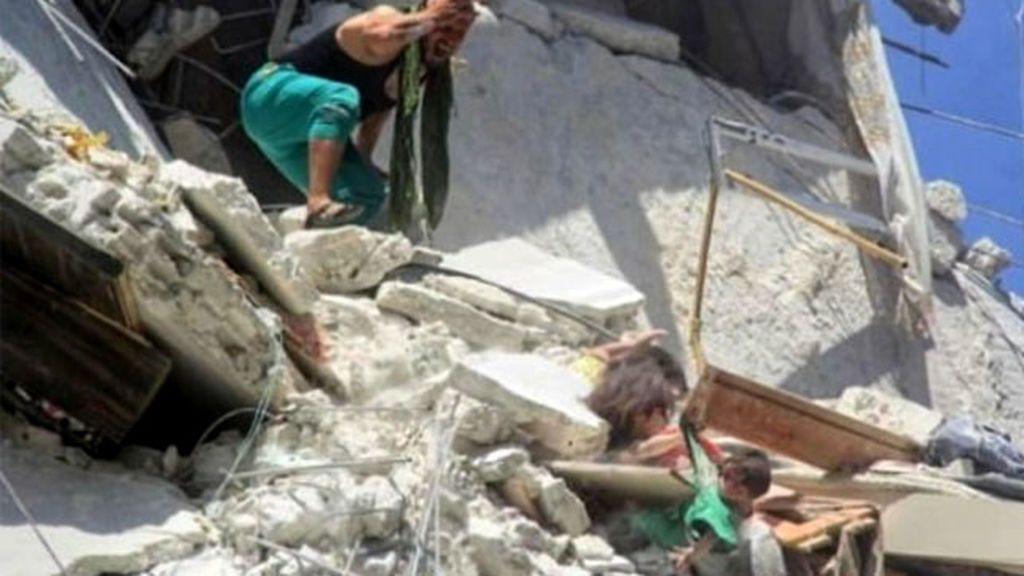 El horror en Siria con una imagen