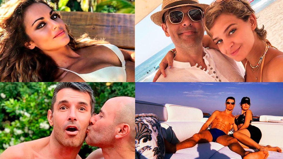El verano de los famosos: lujo, exotismo, parejas misteriosas y un  'topless'