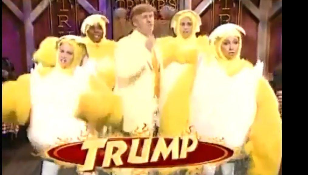 El viejo anuncio de alitas de pollo de Trump que ha hecho reír a la Red