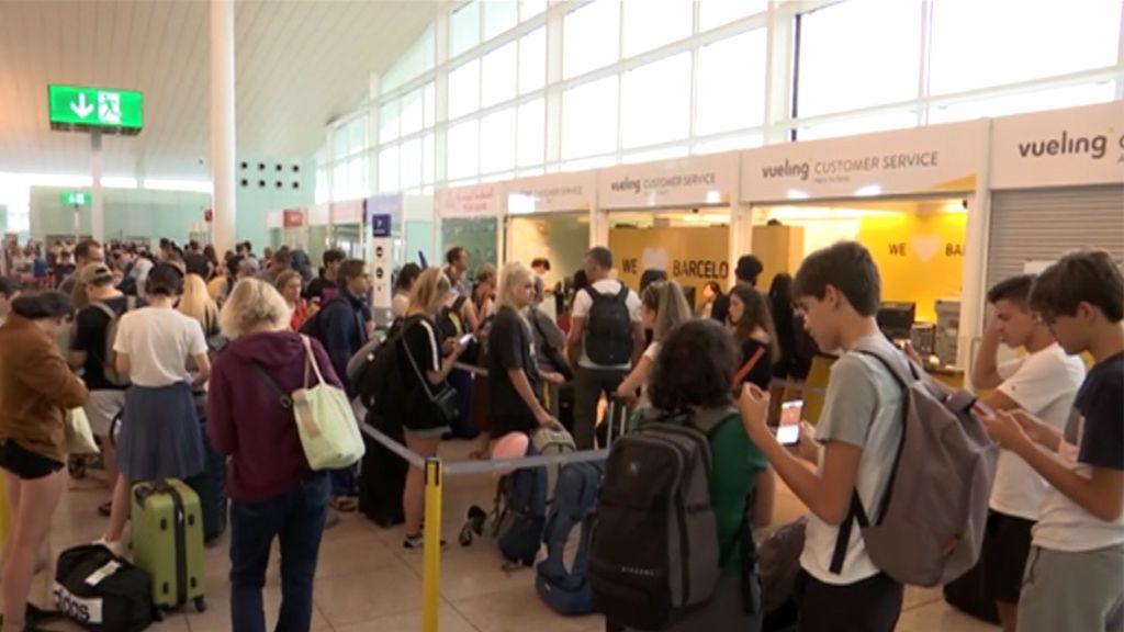 Retrasos y cancelaciones en los vuelos del Aeropuerto de Barcelona