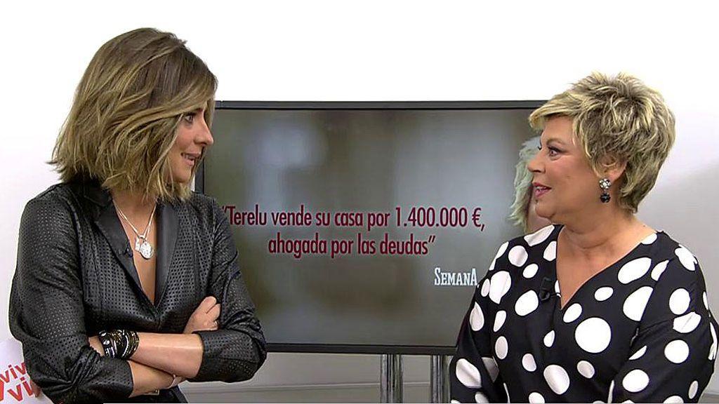 La reacción de Terelu por las venta de su casa