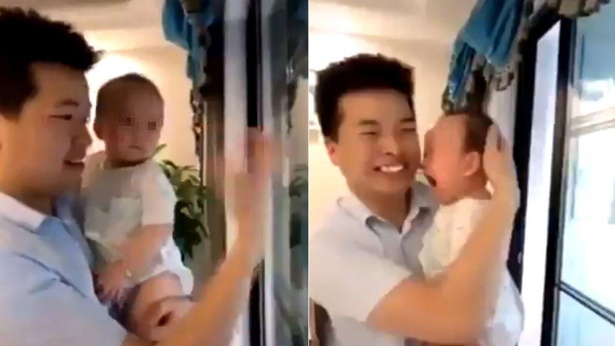 La razón por la que los bebés lloran con el nuevo reto viral