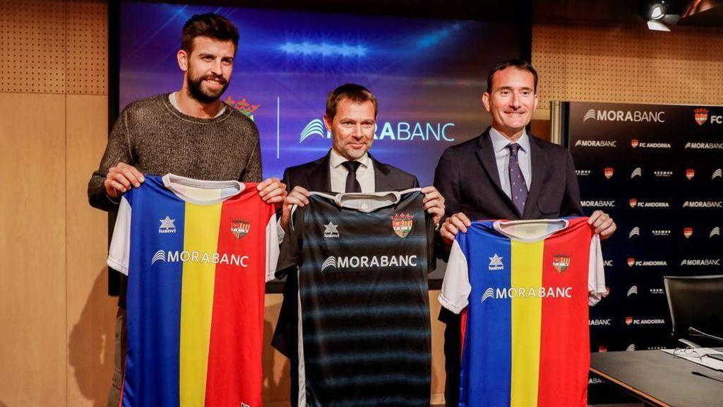 Gerard Piqué compra el Gimnástic de Manresa y lo hace filial del Andorra
