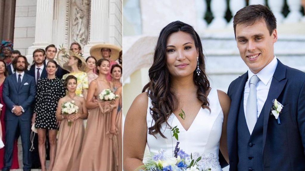 Aciertos y errores de la boda de Louis Ducruet y Marie Chevallier