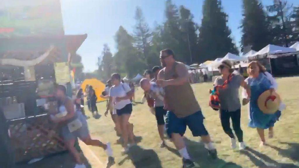 Tres muertos y ocho heridos por un tiroteo en un festival anual de comida de California (EEUU)
