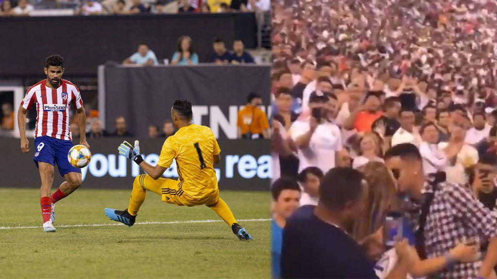 Un aficionado del Atleti pide matrimonio a su novia en la grada y acto seguido su equipo mete el 6-1 al Real Madrid