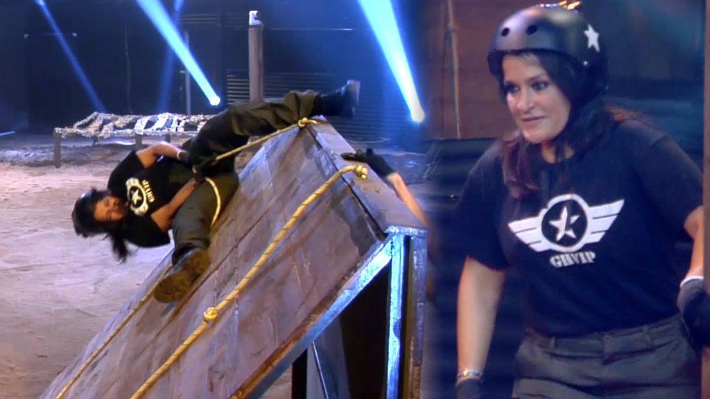 Aída Nízar se jugó la vida en la prueba más guerrera de 'GH VIP 5'
