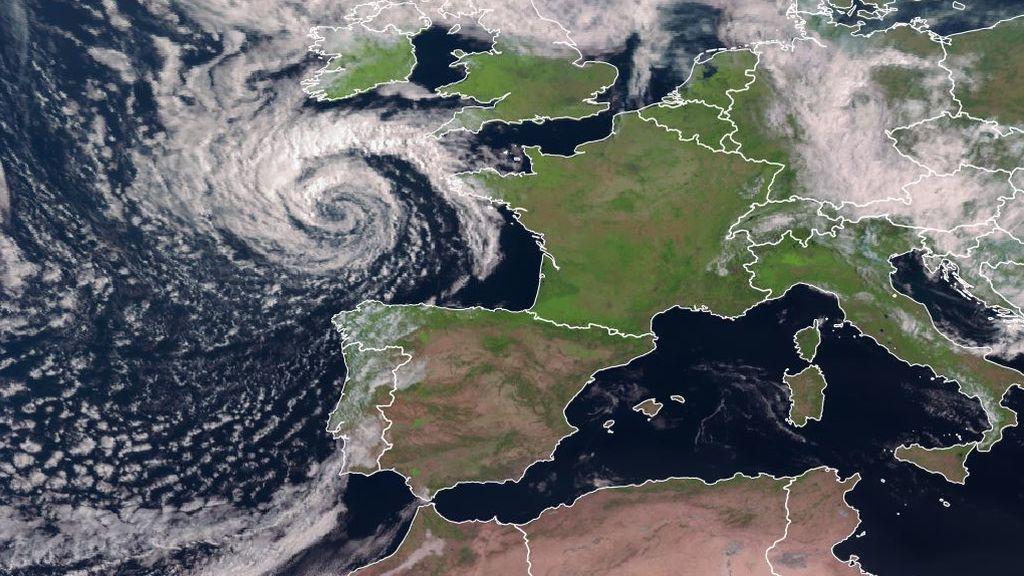 Una tormenta perfecta se forma en el Cantábrico: se esperan vientos de 120 km/h